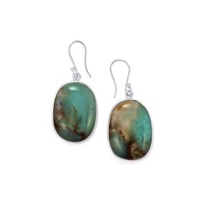 Aquaprase™ Earrings in Sterling Silver 40.25cts