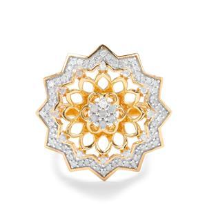 1/2ct Diamond Midas Ring
