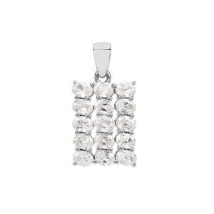 Ratanakiri Zircon Pendant in Sterling Silver 3.51cts