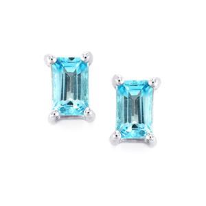 Topaz Earrings in Sterling Silver 0.73ct