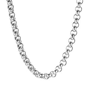"18"" 9K White Gold Altro Belcher Necklace 18.63g"