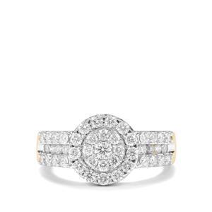 1ct Canadian Diamond 18K Gold Tomas Rae Ring