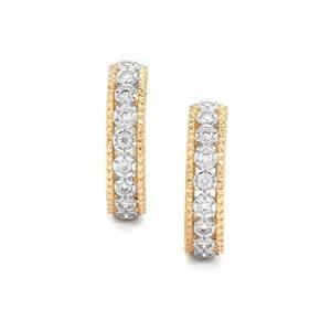 1/3ct Internally FLawless Diamond 18K Gold Tomas Rae Earrings