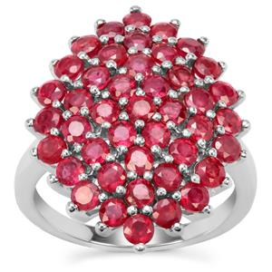 Malagasy Ruby Ring in Sterling Silver 4.30cts (F)
