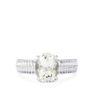 2.19ct Itinga Petalite Sterling Silver Ring