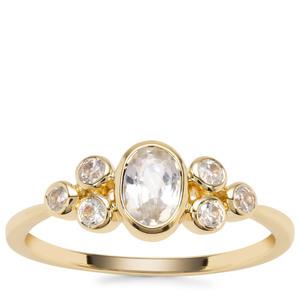 Ratanakiri Zircon Ring in 9K Gold 1.15cts