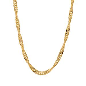 "36"" Midas Couture Singapore Chain 6.11g"