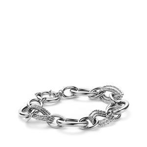 "8"" Sterling Silver Altro Italiano Bracelet 14.80g"