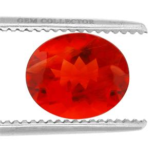 Tarocco Red Andesine GC loose stone  3.00cts