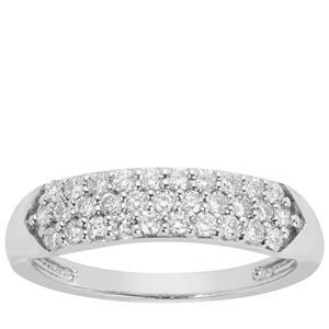 Diamond Ring in Platinum 950 0.51cts