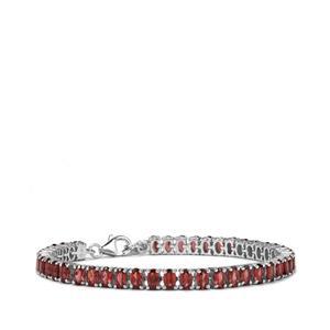 12.65ct Nampula Garnet Sterling Silver Bracelet