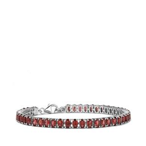 Nampula Garnet Bracelet in Sterling Silver 12.65cts