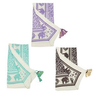 Elephant Kingdom Destello Scarf (Choice of 3 Color)
