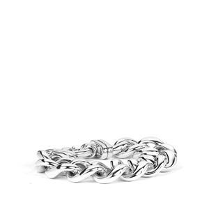 Sterling Silver Altro Curb Bracelet 31.65g