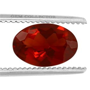 Tarocco Red Andesine GC loose stone  2.30cts