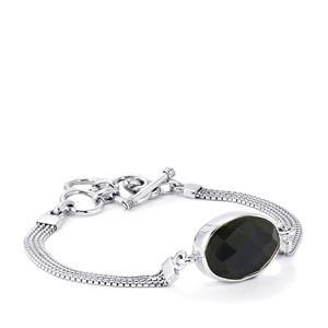 11ct Hawk's Eye Sterling Silver Aryonna Bracelet