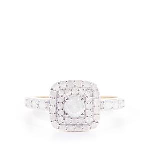 Diamond Ring in 9K Gold 0.77ct