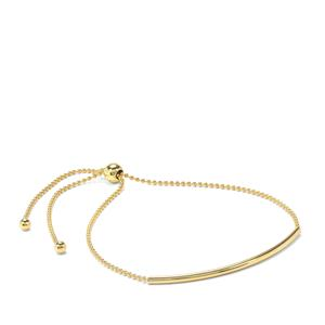 "10"" Midas Altro Bar Slider Bracelet 1.90g"