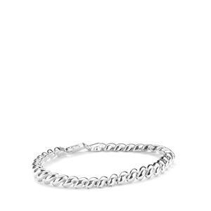 Sterling Silver Dettaglio Mini San Marco Bracelet 7.2g