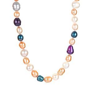 Multi-Colour Kaori Cultured Pearl Necklace