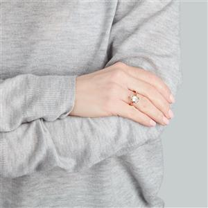 Serenite Ring in 10k Gold 2.55cts
