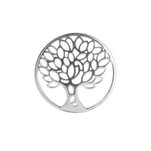 Tree Of Life Sterling Silver Disc 3.77g