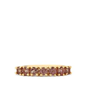 Bekily Color Change Garnet Ring in 10k Gold 1cts