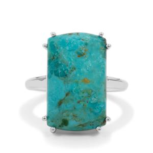 Cochise Turquoise Ring in Sterling Silver 11.20cts