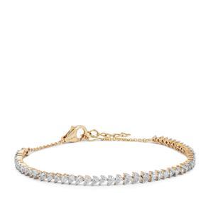 Diamond Bracelet in 18K Gold 2cts