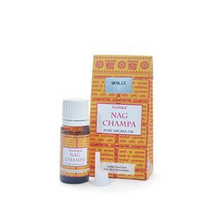 10ml Goloka aroma oil in the fragrance Nag Champa