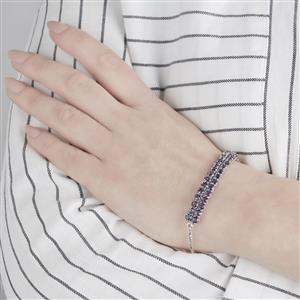 Bengal Iolite Bracelet in Sterling Silver 5.05cts