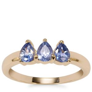 Ceylon Sapphire Ring in 10K Gold 1.15cts