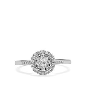 1/3ct Diamond Platinum 950 Tomas Rae Ring