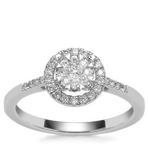 Diamond Ring in Platinum 9500 0.35ct