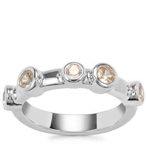 Ceylon Zircon Ring in Sterling Silver 1.11cts