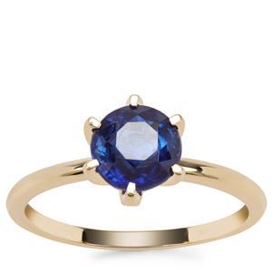 Nilamani Ring in 9K Gold 1.70cts