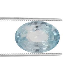 Ratanakiri Blue Zircon Loose stone  1.65cts