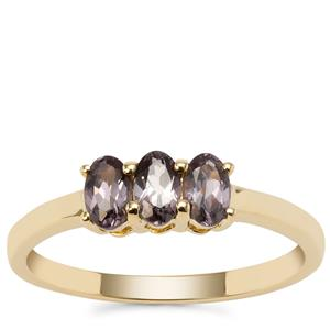 Mahenge Spinel Ring in 9K Gold 0.75ct