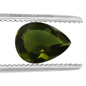 Chrome Tourmaline GC loose stone  0.80ct