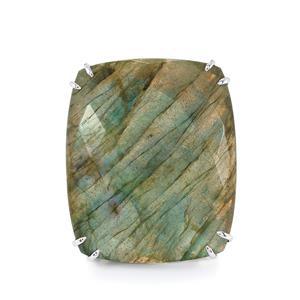 41.66ct Labradorite Sterling Silver Ring