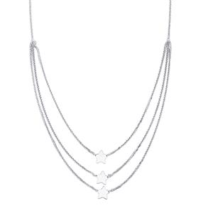 "18"" Sterling Silver Diamond Cut Spiga Graduate Necklace 8.23g"