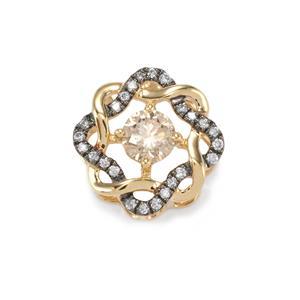 Argyle Diamond Pendant in 18K Gold 0.33ct