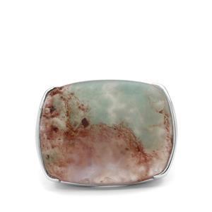 21.65ct Aquaprase™ Sterling Silver Ring
