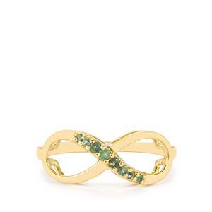 0.17ct Orissa Alexandrite 10K Gold Ring