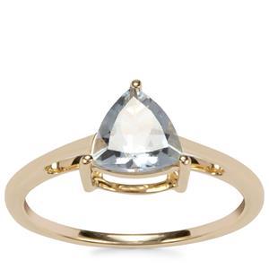 Pedra Azul Aquamarine Ring in 9K Gold 0.93ct