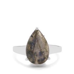 6.25ct Labradorite Sterling Silver Ring
