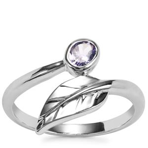 Tanzanite Ring in Sterling Silver 0.27ct