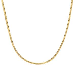 "24"" Midas Tempo Diamond Cut Snake Slider Chain 4.42g"