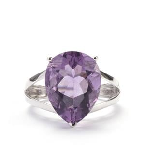 Purple Fluorite Ring in Sterling Silver 10.14cts