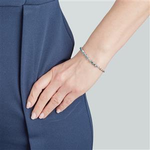 Ratanakiri Blue Zircon Bracelet in Sterling Silver 3.71cts